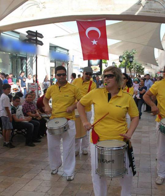19 Mayıs Atatürk'ü Anma Gençlik ve Spor Bayramı için bando (AVM Etkinlikleri)