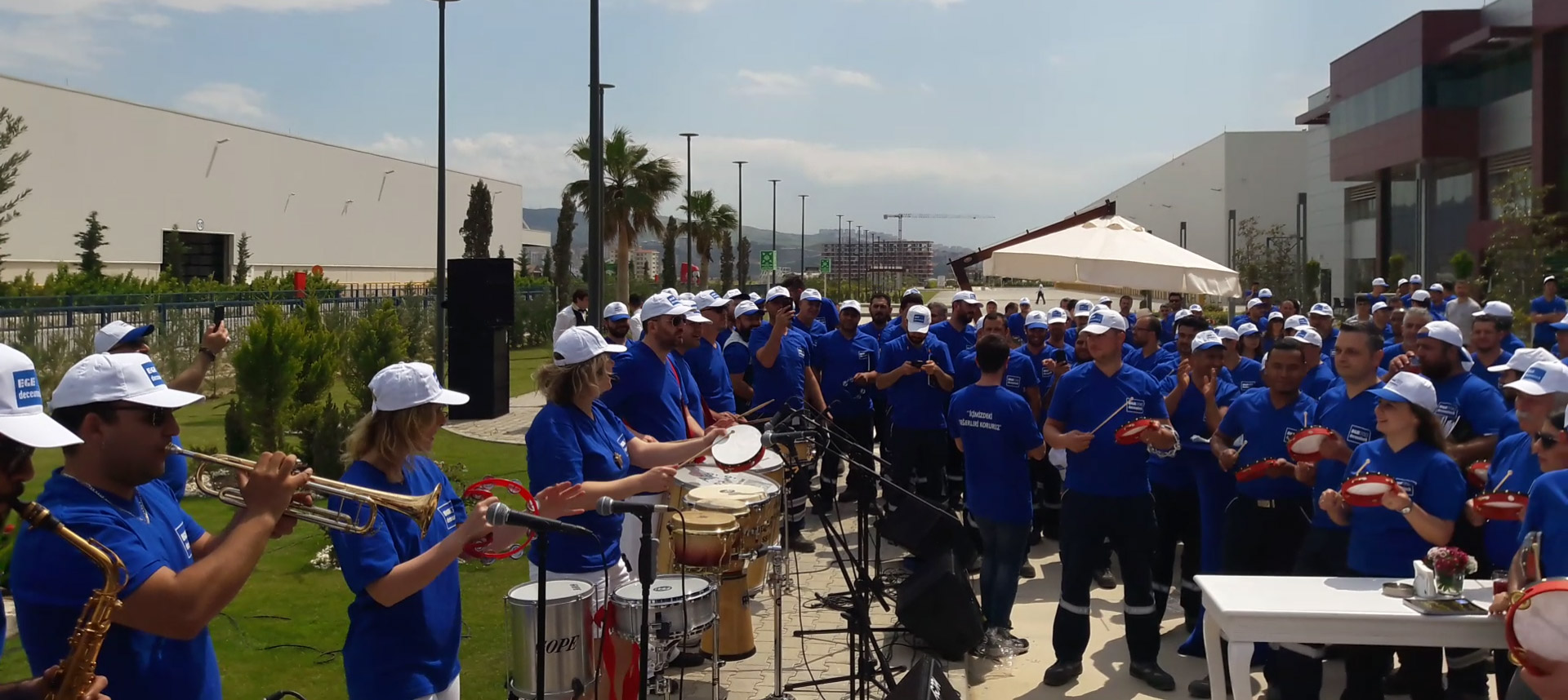 Ritim Atölyesi ve Algo-Ritmo Perküsyon Show – Egepen Fabrikası / İzmir